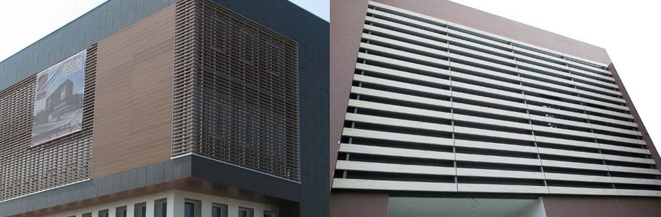 Fachadas transventiladas en diferentes formatos